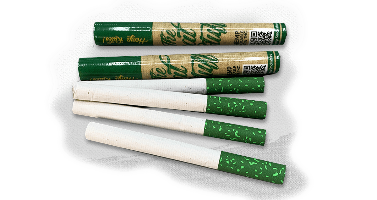The Real Stuff Smokables – Hemp CBD Cigarettes