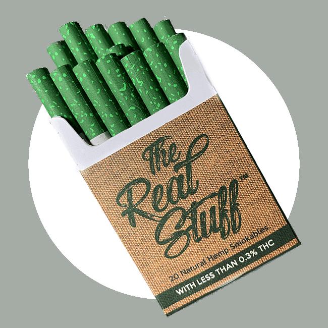 The Real Stuff Hemp CBD Cigarettes